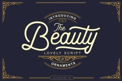 Beauty Script & Ornaments Product Image 1