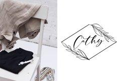 Web Font Cathia Script Font Product Image 4
