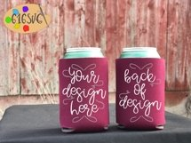Can Cooler Mockup Bundle 33 Color Choices Product Image 4