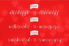 Echgedea - Romantic Script Font Product Image 5