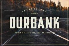 Durbank Font Product Image 1