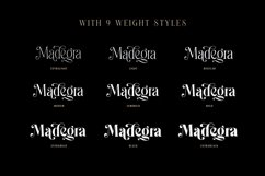 Madegra Serif 9 Weight Font Styles Product Image 2