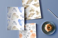 Set of watercolor patterns Product Image 5