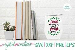 Book Wine Bundle SVG, DXF, PNG, EPS Product Image 4