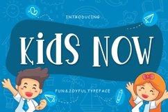 Kids Now Fun & Joyful Typeface Product Image 1