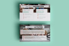 PPT Template | Project Proposal - Green and Marble Product Image 5