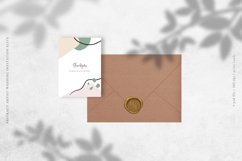 Abstract Artist Wedding Invitation Suite Product Image 5
