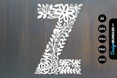 Floral Y Papercut Product Image 1