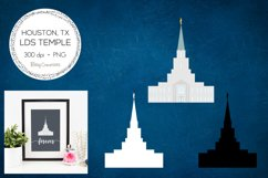 Houston Texas LDS Temple Clipart Product Image 1