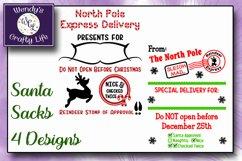 Santa Sack digital bundle of 4 designs - SVG, PNG & PDF Product Image 3