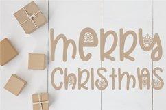 Web Font Christmas Snowflakes Font Product Image 3