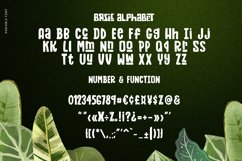 Zaba Zoo - Jungle Font with Text effect Product Image 5