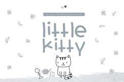 Little Kitty - A Fun Handwritten Font Product Image 1