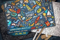Water Sports Objects & Symbols Set Product Image 1