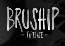 Bruship Font Product Image 1