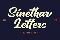 Sinethar - Bold Script Product Image 6