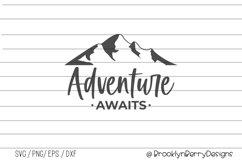 Adventure Awaits- Camping Shirts SVG Product Image 1
