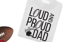 Loud and Proud- Dad SVG, DXF, PNG Product Image 2