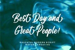 Rauzatul Script | Modern Stylish Font Product Image 2
