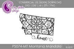 Mandala Montana Home SVG DXF Ai EPS PNG Product Image 1