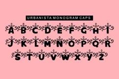 Urbanista Handlettered Monogram Font Product Image 2