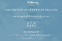 Patterning | Modern Calligraphy Font Product Image 4