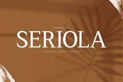 Web Font Seriola Product Image 1