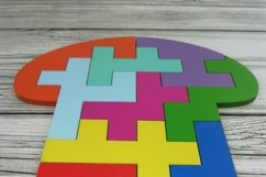 Educational jigsaw puzzle for children, Puzzle svg file Product Image 2