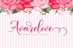 Avarelove // Lovely Script Font Product Image 1