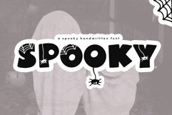 Spooky - A Quirky Halloween Font Product Image 1