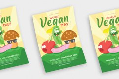 World Vegan Day vol.01 - Flyer, Poster & Instagram TY Product Image 2
