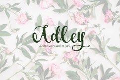 Adley - A Fancy Script Product Image 1