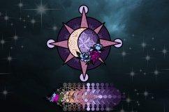 3D Celestial bundle of 5 designs Layered Celestic SVG Product Image 5