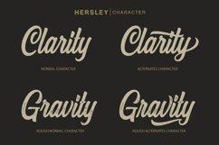 Hersley Typeface Product Image 3