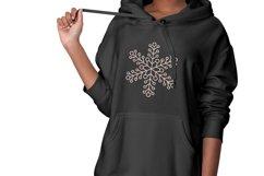 Glitter Snowflakes Bundle | Christmas | EPS PNG JPG Product Image 3