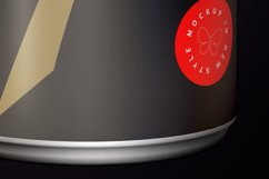 Energy Drink Black Can Mockup 250ml Product Image 6