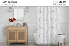 Bath Curtain Mockup Pack Product Image 1