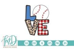 Baseball Mom - Biggest Fan - Baseball Love SVG Product Image 1