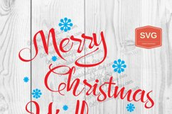 Merry Christmas Y'all Xmas printing files PNG Product Image 3
