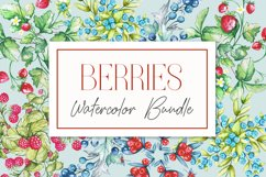 Berries Watercolor Bundle Product Image 1