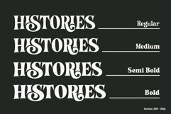 Histories Font Product Image 4