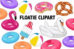 Pool Floatie Clipart Product Image 1