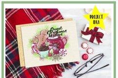 Sweet Christmas Wishes Baking Sublimation Product Image 2