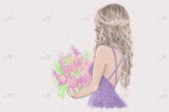 Flower Girl, Hand Drawn Illustration Product Image 2