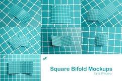 SQUARE BIFOLD BROCHURE MOCKUPS Product Image 8