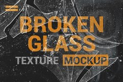 Broken Glass Texture Mockup Product Image 4