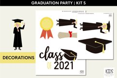 Class of 2021 printable party | Graduation party decorations Product Image 2