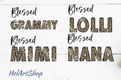 Blessed Grammy png, Sublimation png , Bundle Product Image 1