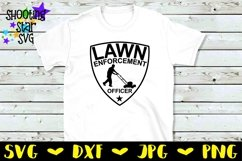 Lawn Enforcement Officer - Father's Day SVG Product Image 2