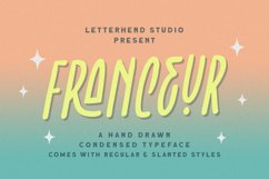 Franceur - Condensed Typeface Product Image 1